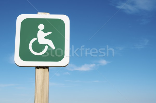 priority for the disabled Stock photo © pedrosala