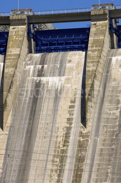 Stock photo: Dam