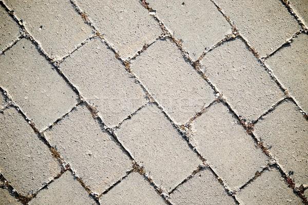 Stone floor view Stock photo © pedrosala
