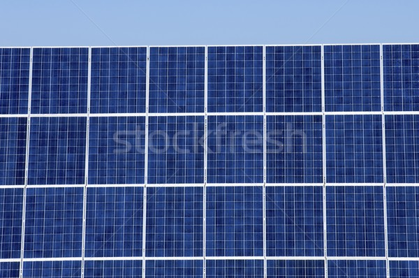 photovoltaic panel Stock photo © pedrosala
