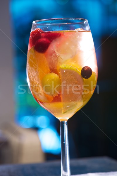 Fruto coquetel grupo beber vida Foto stock © pedrosala
