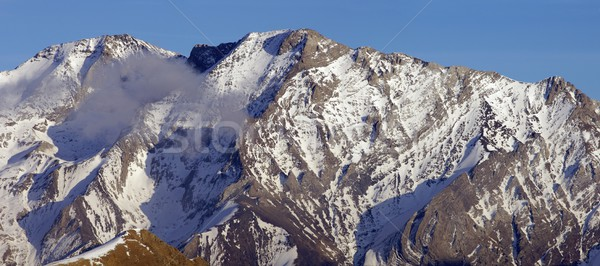 snowy mountain Stock photo © pedrosala