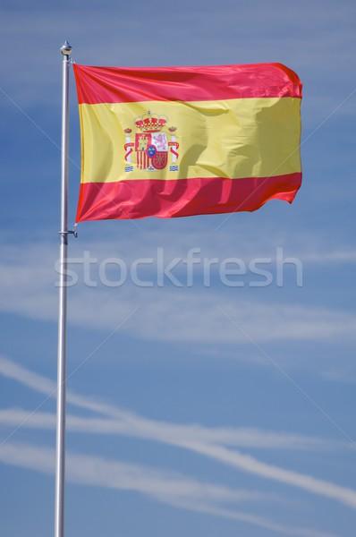 スペイン スペイン国旗 サッカー テクスチャ ストックフォト © pedrosala