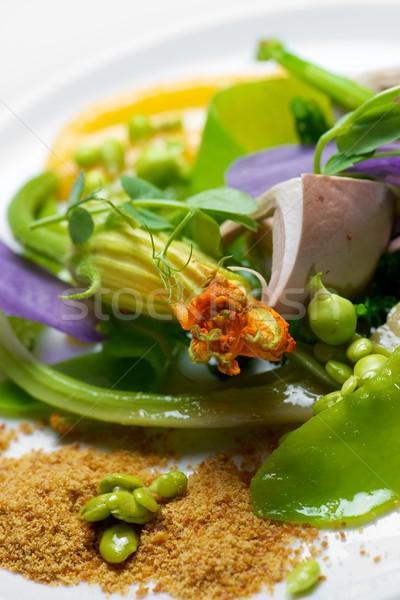 野菜 シチュー クローズアップ 春 食品 キッチン ストックフォト © pedrosala