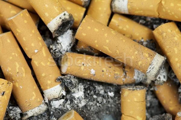 Papierosów zdrowia dymu śmierci Zdjęcia stock © pedrosala