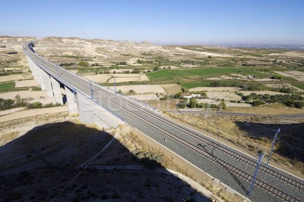 Stock photo: viaduct
