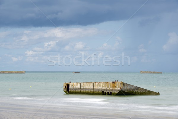 Arromanches Stock photo © pedrosala