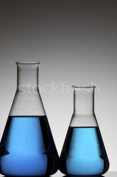 two conical flasks Stock photo © pedrosala