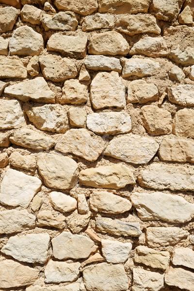 石の壁 農村 建物 壁 抽象的な 自然 ストックフォト © pedrosala