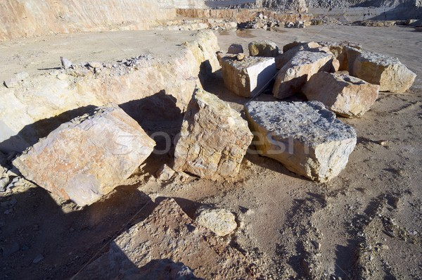stone quarry Stock photo © pedrosala