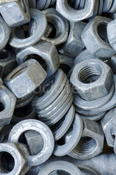 Diók csoport textúra ipar bolt ipari Stock fotó © pedrosala