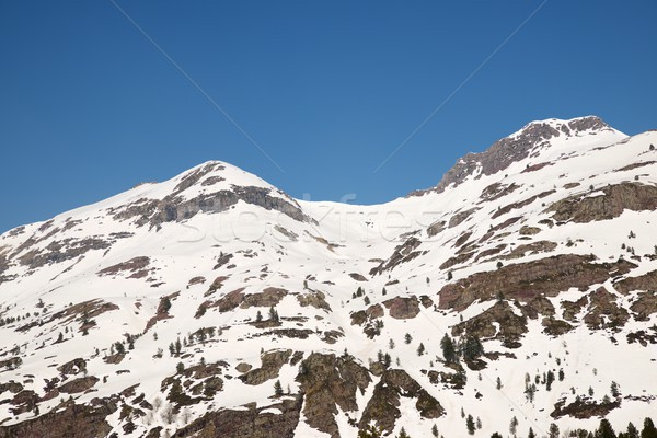 Pyrenees in Spain Stock photo © pedrosala