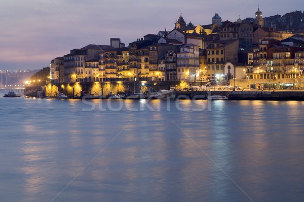 fishing port of Oporto Stock photo © pedrosala