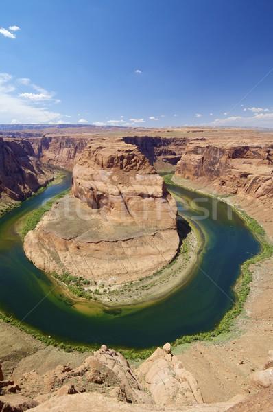 馬蹄 コロラド州 川 アリゾナ州 米国 ストックフォト © pedrosala
