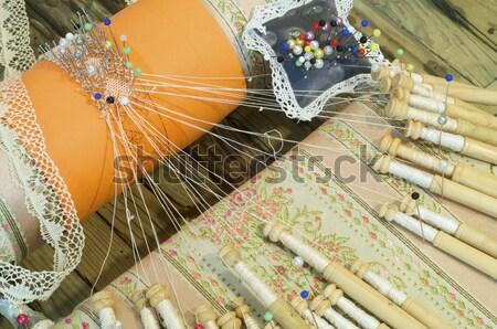 bobbin lace Stock photo © pedrosala