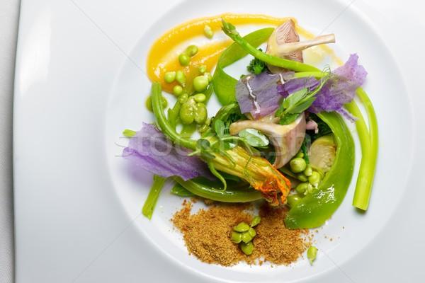 Sebze güveç bahar gıda mutfak Stok fotoğraf © pedrosala