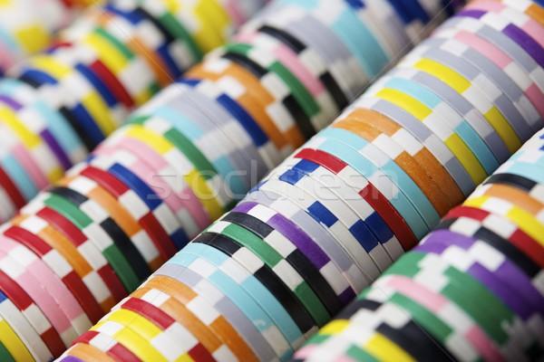 казино фишки казино фон таблице белый шаблон Сток-фото © pedrosala