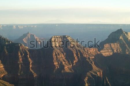 グランドキャニオン 公園 米国 自然 風景 山 ストックフォト © pedrosala
