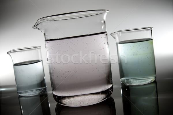 白 室 ガラス 背景 グループ 科学 ストックフォト © pedrosala