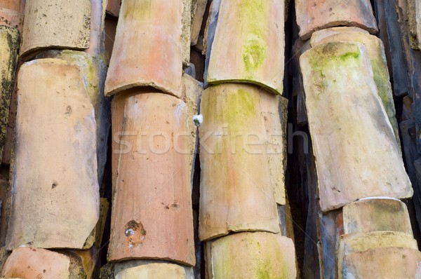 Stock photo: roof view