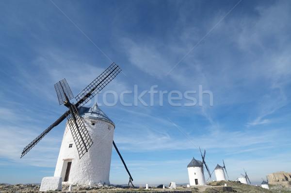 traditional windmill Stock photo © pedrosala