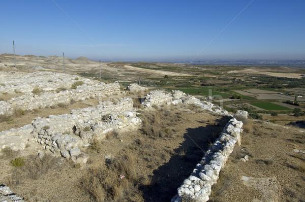 考古学的な 屋外 スペイン 誰も 日 外 ストックフォト © pedrosala