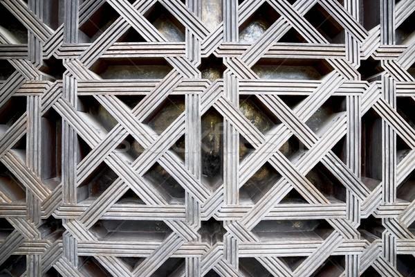 Drzwi widoku meczet ściany architektury Zdjęcia stock © pedrosala