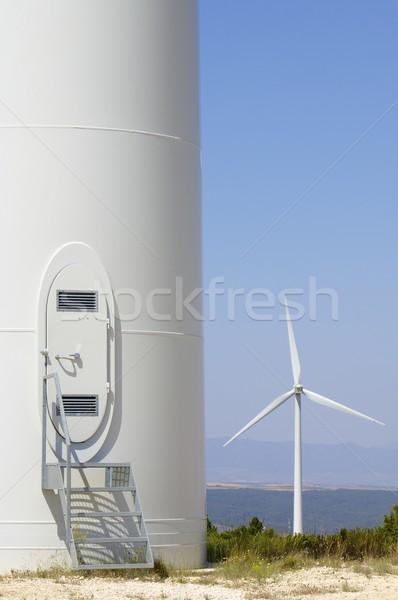 wind turbines Stock photo © pedrosala