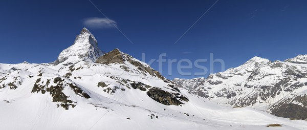 Matterhorn Stock photo © pedrosala