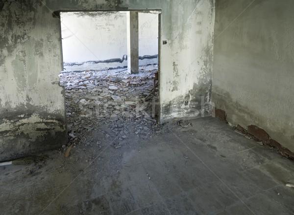 捨てられた インテリア 表示 遺跡 建物 家 ストックフォト © pedrosala