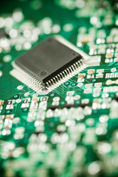 Сток-фото: интегрированный · схеме · чипа · науки · промышленных