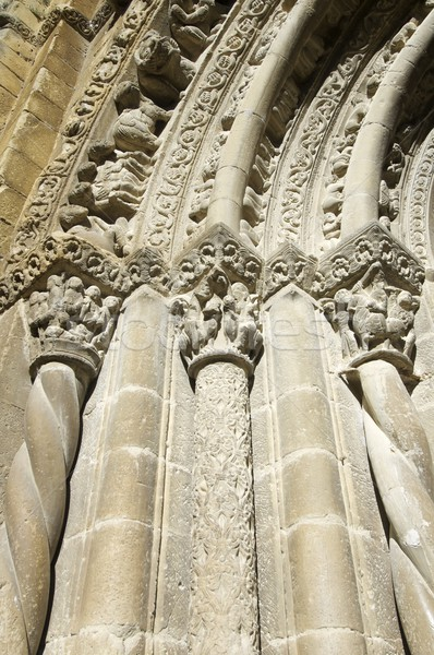 Stock photo: romanesque