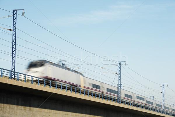 Speed Train Stock photo © pedrosala