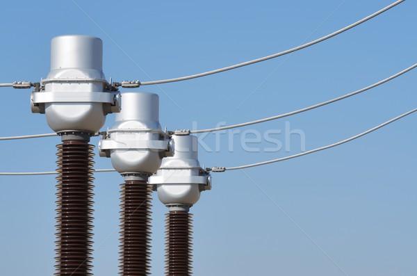 electricity Stock photo © pedrosala