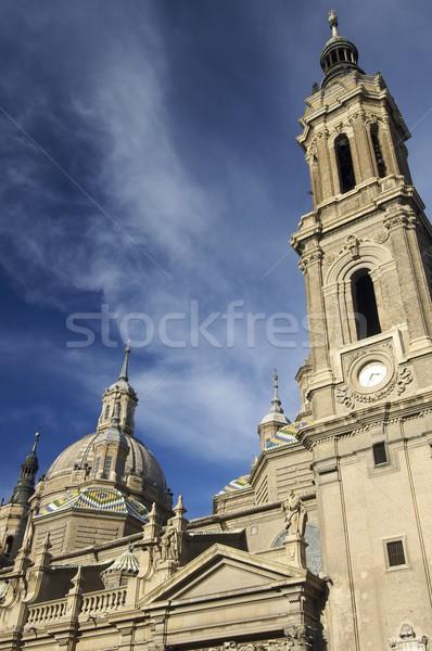 Pilar cathedral Stock photo © pedrosala