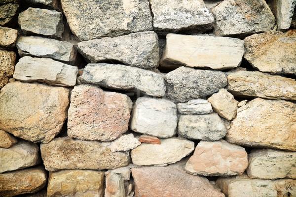 стены каменной стеной высокий разрешение текстуры искусства Сток-фото © pedrosala