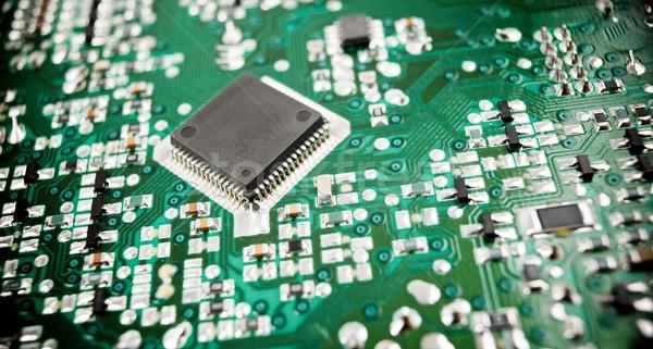 Integrato circuito chip computer scienza Foto d'archivio © pedrosala