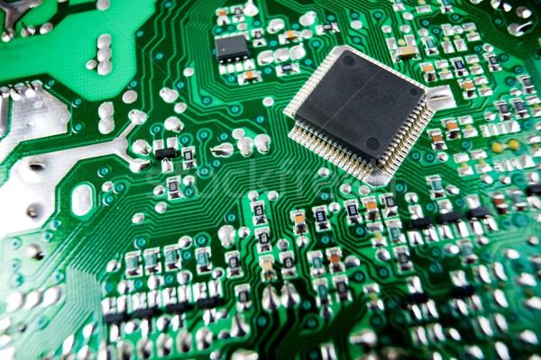 Integrato circuito chip scienza industriali Foto d'archivio © pedrosala