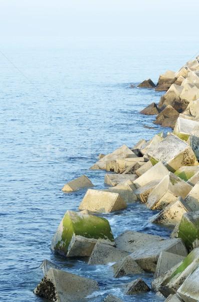 Stock photo: breakwater