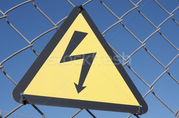 electrical hazard Stock photo © pedrosala