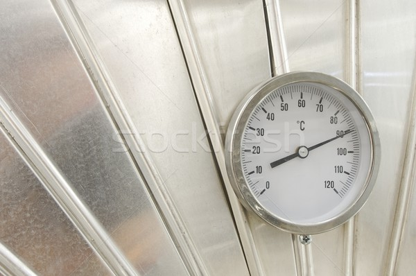 industrial thermometer Stock photo © pedrosala