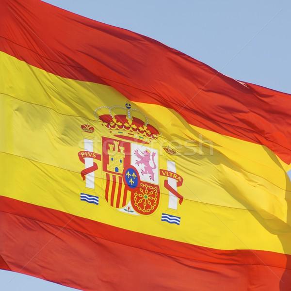スペイン スペイン国旗 サッカー ファブリック ストックフォト © pedrosala