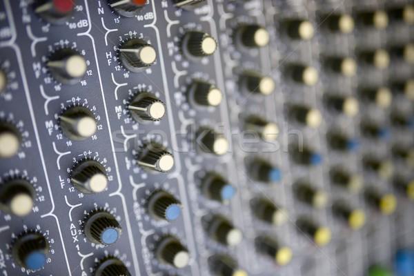 Mixer panel Stock photo © pedrosala