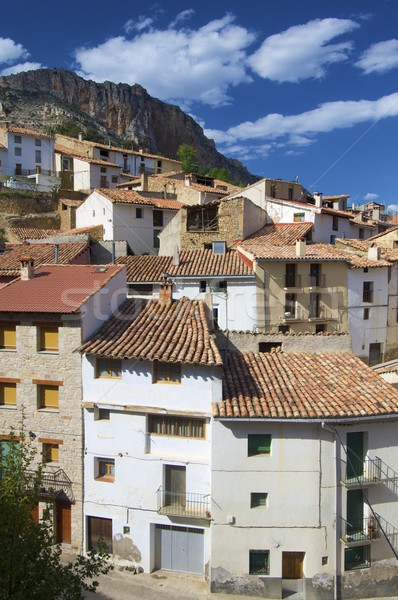 Spanish village Stock photo © pedrosala