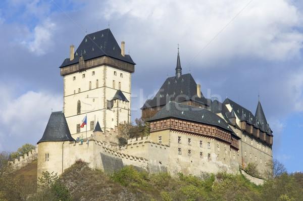 Karlstejn castle Stock photo © pedrosala