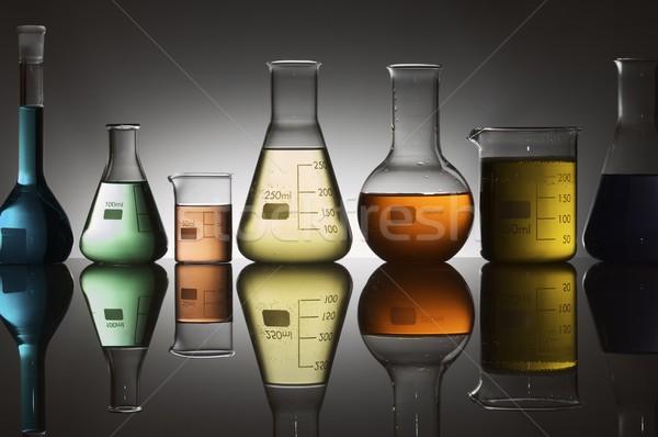laboratory containers Stock photo © pedrosala