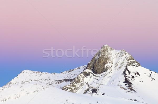 Ballibierna peak Stock photo © pedrosala