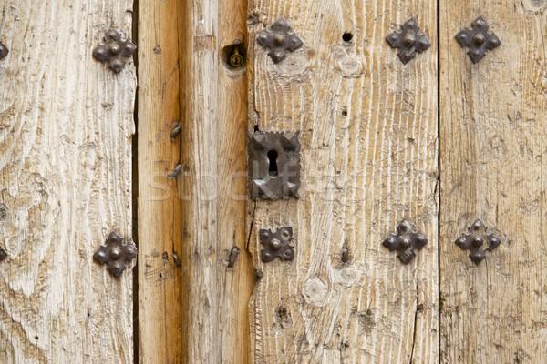 Old door Stock photo © pedrosala