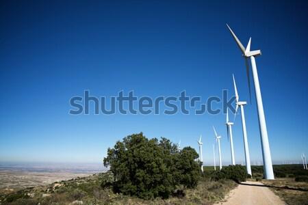Сток-фото: электрических · производства · водохранилище · пейзаж · технологий