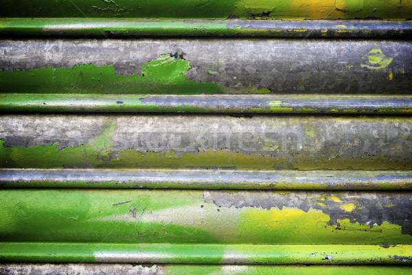 Métal aveugle élevé résolution sombre wallpaper Photo stock © pedrosala